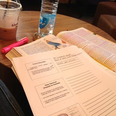 Photo taken at Gloria Jean's Coffees by Maya S. on 4/21/2012