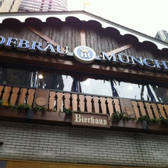 Photo taken at Hofbräu Bierhaus NYC by Brian A. on 2/11/2012