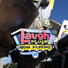 Photo taken at Monsters, Inc. Laugh Floor by Reedy Creek Radio.Com T. on 5/17/2012