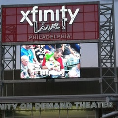Photo taken at XFINITY Live! Philadelphia by Ipyani on 8/18/2012