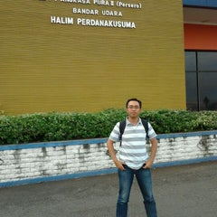 Photo taken at Halim Perdana Kusuma International Airport (HLP) by Eka K. on 2/5/2012