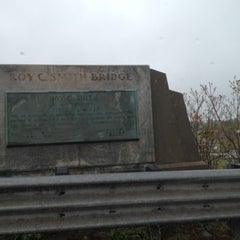 Photo taken at Roy C. Smith Bridge by Dave K. on 5/3/2012