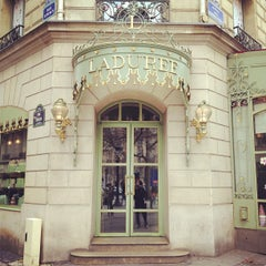 Photo taken at Ladurée by Stone I. on 3/3/2012