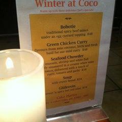 Photo taken at Coco Bistro by Priscilla B. on 6/9/2012
