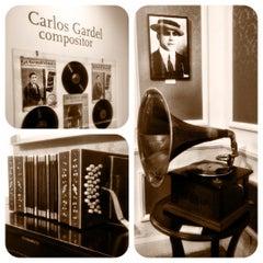 Photo taken at Museo Casa Carlos Gardel by Daniel C. on 7/20/2012