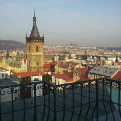 Photo taken at Hotel Suite Home Prague by Martina L. on 3/7/2012