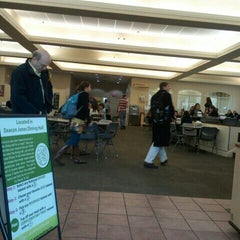 Photo taken at Deacon Jones Dining Hall by Michael S. on 2/14/2012