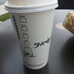 Photo taken at Starbucks by Sheralyn J T. on 9/6/2012