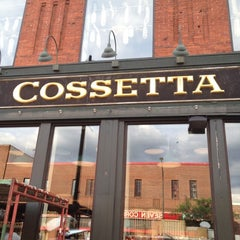 Photo taken at Cossetta's Italian Market & Pizzeria by Paul W. on 6/7/2012