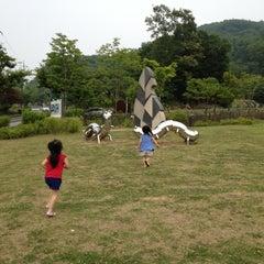 Photo taken at 갈미한글공원 by KJ on 6/6/2012