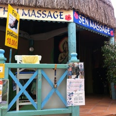 Photo taken at Massage Centre and fish spa by Richard B. on 4/30/2012