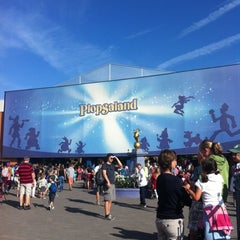 Photo taken at Plopsaland by Kirsty D. on 8/29/2012
