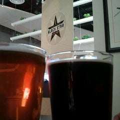 Photo taken at Black Star Co-op Pub & Brewery by Julie S. on 7/8/2012