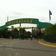 Photo taken at Gardaland by Gloria R. on 4/9/2012