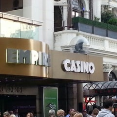 Photo taken at The Casino at The Empire by Henrry P. on 7/14/2012