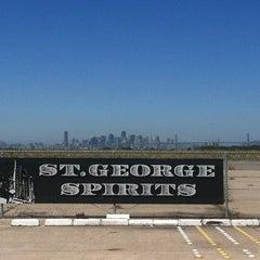 Photo taken at St. George Spirits by Joel O. on 7/21/2012