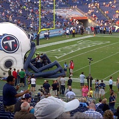 Photo taken at Nissan Stadium by Michael W. on 8/23/2012