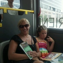 Photo taken at Charm City Circulator - Orange Route by Tania M. on 7/15/2012