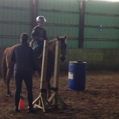 Photo taken at Wilsher Stable by Jennifer B. on 4/12/2012