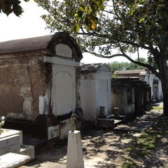 Photo taken at Lafayette Cemetery No. 1 by Natalie C. on 4/3/2012