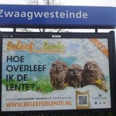 Photo taken at Station Zwaagwesteinde by Gerben D. on 4/28/2012
