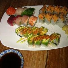 Photo taken at Moshi Moshi Sushi by Gwen M. on 7/28/2012