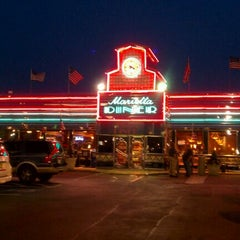 Photo taken at Marietta Diner by Tania W. on 3/22/2012