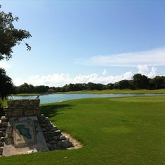 Photo taken at Campo de Golf Playacar by Manny M. on 8/24/2012