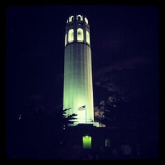 Photo taken at Coit Tower by Alex A. on 2/20/2012