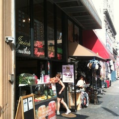 Photo taken at Tribeca Bagels by John L. on 8/19/2012