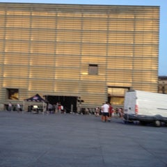Photo taken at Palacio de Congresos Kursaal by Gorka M. on 9/8/2012