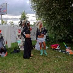 Photo taken at Траектория Wake Park by Игорь on 8/18/2012