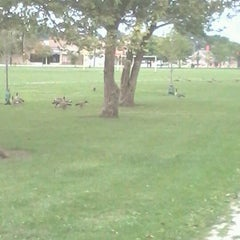 Photo taken at Marquette Park by Eric M. on 8/16/2012