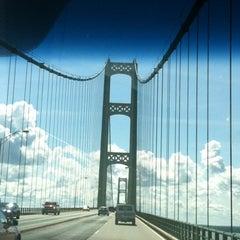 Photo taken at Mackinac Bridge by Cortney P. on 8/18/2012