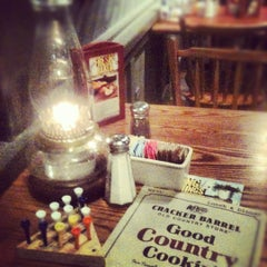 Photo taken at Cracker Barrel Old Country Store by Brandon T. on 4/11/2012