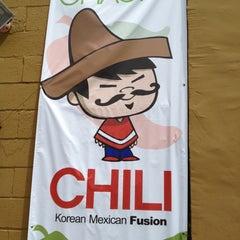 Photo taken at Cha Cha Chili by Adam O. on 5/24/2012
