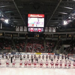 Photo taken at Agganis Arena by Nora R. on 2/11/2012