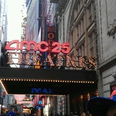 Photo taken at AMC Empire 25 by Cass C. on 5/3/2012