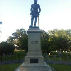 """Photo taken at Thomas """"Stonewall"""" Jackson's Grave by Eric K. on 8/11/2012"""