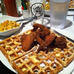 Photo taken at Dame's Chicken & Waffles by Scott B. on 2/24/2012