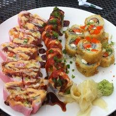 Photo taken at Jade Asian Fusion by Liz B. on 6/14/2012