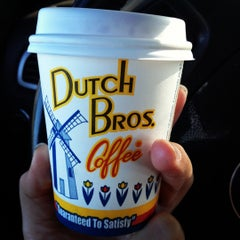 Photo taken at Dutch Bros. Coffee by Ashley E. on 5/7/2012