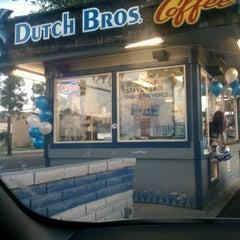 Photo taken at Dutch Bros. Coffee by John B. on 5/4/2012