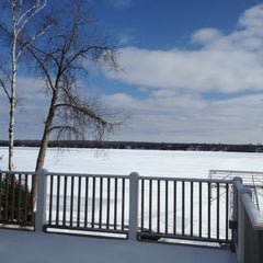 Photo taken at Stoney Lake by Katrina F. on 3/4/2012