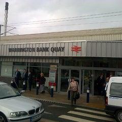 Photo taken at Warrington Bank Quay Railway Station (WBQ) by Rod B. on 9/4/2012