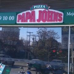 Photo taken at Papa John's Pizza by Matias I. on 7/16/2012