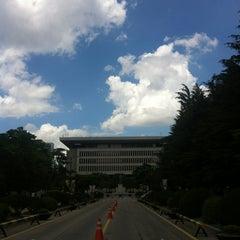 Photo taken at 건국대학교 (Konkuk University) by Gyu-Hyeong K. on 8/2/2012