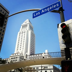 Photo taken at Los Angeles City Hall by Eric L. on 5/14/2012