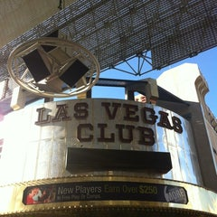Photo taken at Las Vegas Club Hotel & Casino by Ed B. on 8/11/2012