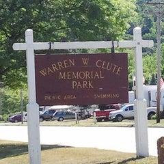 Photo taken at Warren W. Clute Memorial Park by Matthew F. on 6/23/2012